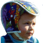 Plum's® ProtectaCap® Custom-Fitting Serious Head Protection Helmet Kids Print